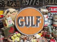 アメリカンガレージのウッドサイン(ガルフ)★アメリカ雑貨★アメリカン雑貨