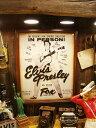 エルヴィス・プレスリーの木製看板 ■ こだわり派が夢中になる! 人気のアメリカ雑貨屋 ウッドサイン サインプレート アメリカ アンティーク 木製 ウッド 看板 サインボード アメリカ雑貨 アメリカン雑貨 壁飾り ウォールデコレーション おしゃれ 男前 ポスター アメリカ