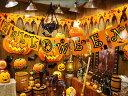 ハロウィンカラーのオレンジとブラックを基調としたカラーリング!ハロウィン ハンギング・ス...