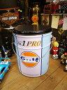 本物のガルフのオイル缶をリサイクルして作られたモノ!世田谷ベースで所さんが座ってるあのガ...