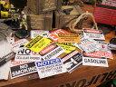 USAサインプレートステッカー(うちで人気の10枚セット) ■ アメリカ雑貨 アメリカン雑貨 ステッカー アメリカ 雑貨 車 バイク スーツケース デカール シール オリジナル アルファベット カー用品 リアガラス レトロ