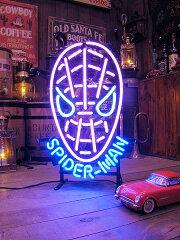 米国マーヴルコミックス社が生み出したスーパーヒーロー!スパイダーマンのネオン管 ★映画★...