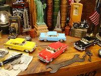 1957年シボレーベルエアのミニカー4台セット★アメリカ雑貨★アメリカン雑貨