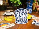 ハレイワスーパーマーケットのステッカー(HSM) ■ 自分仕様だから愛...