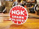 ミニレーシングステッカー NGKステッカー SPARK PLUGS ■...