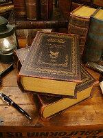 古めかしい洋書みたいな小物入れブックボックス2冊セット(No.6)★アメリカ雑貨★アメリカン雑貨