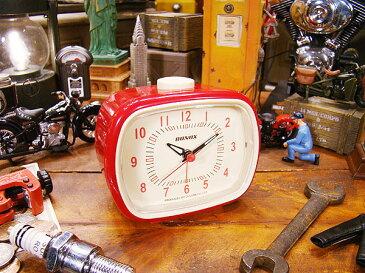 ダルトン クラシックベル(レッド) ■ アメリカ雑貨 アメリカン雑貨 目覚まし時計 おしゃれ おもしろ アラームクロック めざまし時計 かっこいい プレゼント 置き時計 アメリカ 雑貨 インテリア