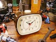 ダルトン クラシック ブラウン アメリカ アメリカン 目覚まし おしゃれ プレゼント 置き時計 インテリア