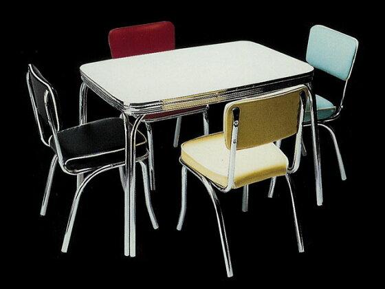 アメリカンダイナーテーブル(ロングタイプ)アイボリー