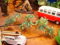 南の島のヤシの木のオブジェ(6個入り/ミニミニ6個)
