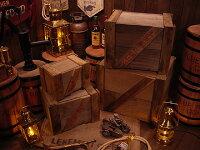 輸出用木箱Bタイプ茶Lサイズ