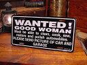 いい女求む!のライセンスプレート