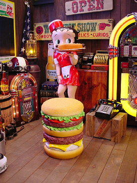 アメ雑貨好きが選ぶとイスはこうなる!ハンバーガーチェアー ■ 椅子 アメリカ雑貨 アメリカン雑貨 こだわり派が夢中になる! 人気のアメリカ雑貨屋 インスタ映え