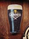 ギネスビールのグラスクロック