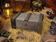 ミリタリーデンジャーウッドボックス ■ アメリカ雑貨 アメリカン雑貨 カッコイイ男の部屋を目指せ! アメリカ雑貨屋 おしゃれ 人気 インテリアグッズ オブジェ 小物 映画 小道具 木箱 ウッドボックス 収納ボックス ふた付