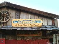 ビッグベイスンの木製看板