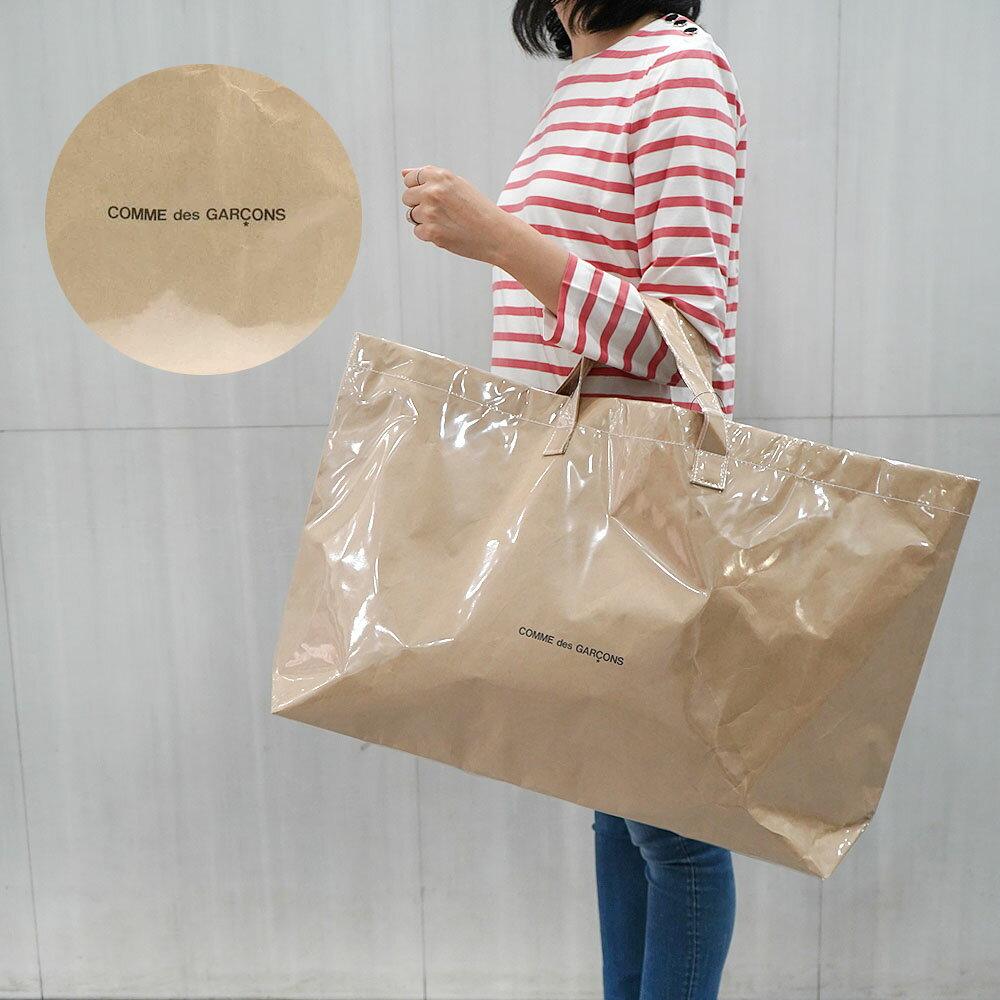 男女兼用バッグ, トートバッグ  COMME des GARCONS COMME des GARCONS transparent paper tote bag(BEIGE)GGK201-01