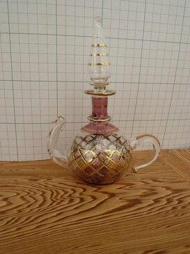 エジプト 香水瓶011/ガラス細工/ガラス 工芸品/パヒュームボトル