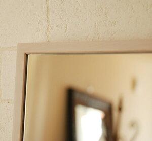 ミラー鏡壁掛け全身姿見スタンドスリークフレームミラーフラット【レビューで200円OFF】アンティークジャンボミラー42×153cm長方形大型細枠ホワイトブラウン全身鏡ウォールミラースタンドミラーモダン北欧姫ロココ調