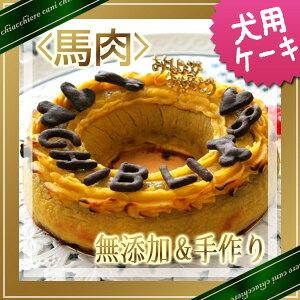 【愛犬用ケーキ】馬肉ミートローフケーキM犬用ケーキ/犬 ケーキ/犬 誕生日 ケーキ/犬 バースデイケーキ/ドッグフード/犬用誕生日ケーキ/無添加/手作り