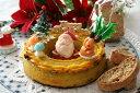 ☆無添加手作り☆北海道産エゾ鹿肉ミートローフクリスマスケーキ