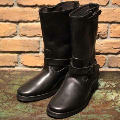 ブーツ, エンジニア AttractionsBILTBUCKLot.603 Engineer Boots The Pioneer Guide HorsebuttBlack BuckleAttractions()(Official Dealer)Cannon Ball()WEARMASTERS