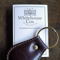 【正規販売店】【送料\324で宅急便】WhitehouseCox(ホワイトハウスコックス)S668KEYFOBブライドルレザーキーホルダー6カラー