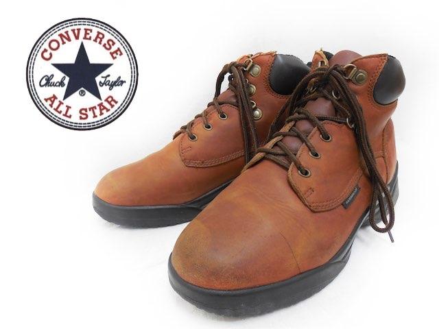 ブーツ, ワーク CONVERSE US9D27cm USAf-2751USED151204