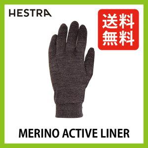 【50%OFF】<2015−2016年モデル> ヘストラ メリノアクティブライナー【送料無料】【正規品】HESTRA|手袋|メリノウール|インナーグローブ|防寒|通気性|防臭|抗菌|保温性|多目的|薄手|アウトドア|カジュアル|MERINO WOOL ACTIVE LINER|グローブ|インナー|SALE|セール