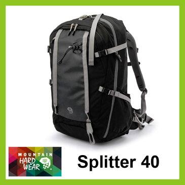 【30%OFF】マウンテンハードウェア スプリッター40 ブラック 【送料無料】 Mountain Hardwear バックパック