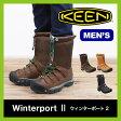 <残りわずか!>【25%OFF】KEEN キーン ウィンターポート2 メンズ【送料無料】スノーブーツ ウィンターブーツ 男性 レインブーツ 防水 防寒 アウトドア スキー スノーボード 雪山 長靴 Winterboot2