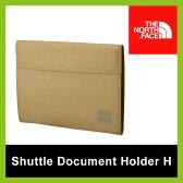 <残りわずか!>【40%OFF】THE NORTH FACE ノースフェイス シャトルドキュメントホルダーH  ドキュメントケース 書類 ケース A4 薄型ファイル ファイル 収納 NM81614