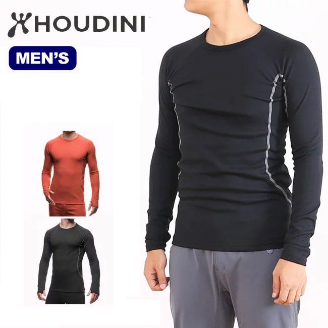 <残り4つ!>【25%OFF】HOUDINI フーディニ アルファクルー 【メンズ】 ベースレイヤー 保温性 ミッドレイヤー 登山 クライミング トレッキング ツーリング バイク