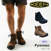 KEEN キーン ピレニーズ メンズ【ポイント10倍】 【送料無料】 【正規品】靴 トレッキングシューズ ブーツ ミッドカット 登山 登山靴 クライミング アウトドア 防水