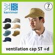 <残りわずか!>【20%OFF】カリマー karrimor ベンチレーションキャップ【ST】+d メンズ レディース 【送料無料】 UPF50+ キャップ 帽子 UV加工 撥水 ポケッタブル 通気性 ベンチレーション キャンプ トレッキング