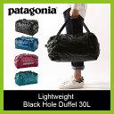 patagonia パタゴニア LW ブラックホールダッフル 30L 【送料無料】 バッグ ダッフルバッグ ボストンバッグ ライトウェイト ブラックホール 49070