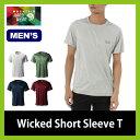 マウンテンハードウェア Mountain Hardwear ウィックド ショートスリーブT メンズ 【送料無料】 スリーブT Tシャツ 半袖 ショート シンプル 無地 速乾性 抗菌加工 OE0617 【17ss】