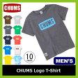 <残りわずか!>【10%OFF】<2017年春夏新作!> CHUMS チャムス チャムスロゴTシャツ メンズ 【送料無料】 Tシャツ ティーシャツ CHUMS Logo T-Shirt メンズ キャンプ タウンユース アウトドア 男性用
