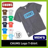<残りわずか!>【20%OFF】 CHUMS チャムス チャムスロゴTシャツ メンズ 【送料無料】 Tシャツ ティーシャツ CHUMS Logo T-Shirt メンズ キャンプ タウンユース アウトドア 男性用 【17ss】