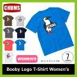 <残りわずか!>【5%OFF】<2017年春夏新作!> CHUMS チャムス ブービーロゴTシャツ 【ウィメンズ】【送料無料】 Tシャツ Booby Logo T-Shirt ティーシャツ レディース キャンプ タウンユース アウトドア 女性用