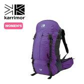<2017FW> カリマー リッジ40タイプ1 【送料無料】 karrimor ridge 40 type1 リュックサック リュック ザック バックパック 40L 40リットル 登山 トレッキング 女性用 バックレングス 42cm