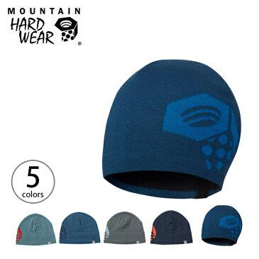 【35%OFF】マウンテンハードウェア カエラムドーム Mountain Hardwear 帽子 防寒 防水 ストライプ ニット帽 ビーニー 登山 スキー スノーボード アウトドア 冬山 暖かい マイクロフリース カラフル ロゴナット フィット