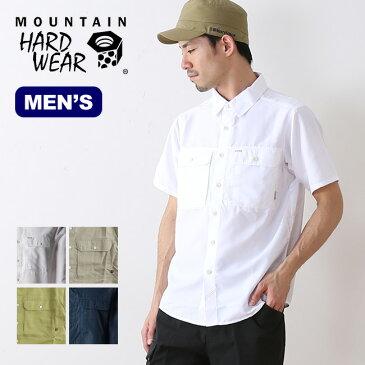 マウンテンハードウェア キャニオンソリッドショートスリーブシャツ Mountain Hardwear メンズ シャツ 半袖 襟シャツ ショート <2018 春夏>