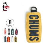 チャムス ボートロゴパスケース スウェットナイロン CHUMS Boat Logo Pass Case Sweat Nylon パスケース キーホルダー <2018 秋冬>
