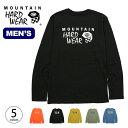 MHW ロゴグラフィックロングスリーブT Mountain Hardw...