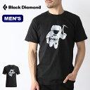 ブラックダイヤモンド メンズ S/S スペースショット ティー Black Diamond SPACESHOT TEE メンズ Tシャツ 半袖 ショートスリーブT ロゴT BD67562 <2019 春夏>