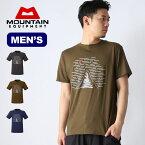マウンテンイクイップメント デスビバークTee MOUNTAIN EQUIPMENT DEATH BIVOUAC TEE Tシャツ 半袖 メンズ <2019 春夏>
