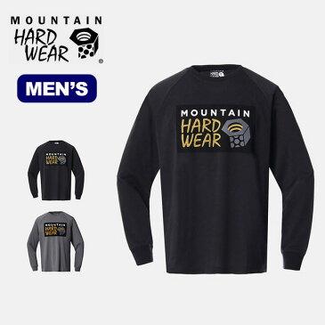 マウンテンハードウェア ボックスロゴロングスリーブ T Mountain Hardwear Box Logo Long Sleeve T メンズ レディース OE8764 アウトドア <2019 秋冬>