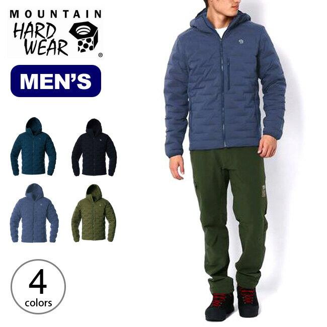 マウンテンハードウェア スーパーDSストレッチダウンフーデッドジャケット Mountain Hardwear Super/DS Stretchdown Hooded Jacket メンズ OM7674 アウター コート トップス ジャケット アウトドア <2019 秋冬>