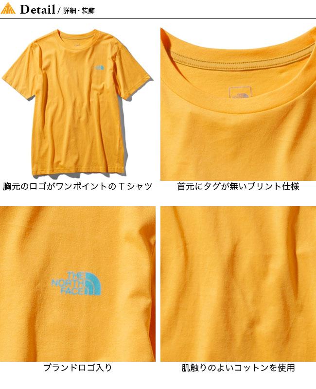 ノースフェイス S/S ヌプシコットンティー THE NORTH FACE S/S Nuptse Cotton Tee メンズ NT31593 トップス Tシャツ ショートスリーブ 半袖
